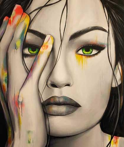 Wild Spirit - 100x150 cm