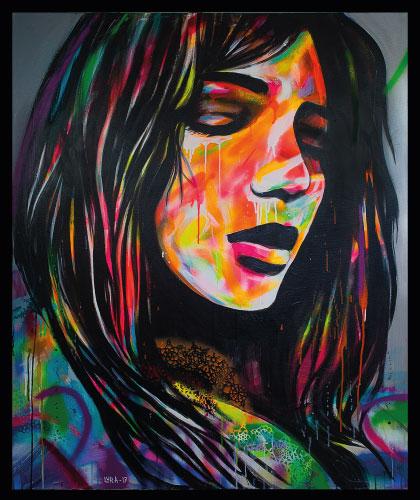 French Girl - 60x80 cm