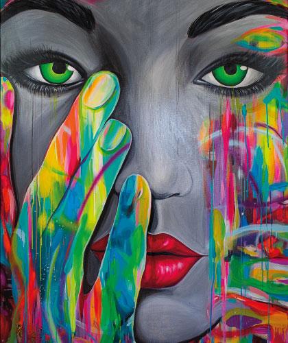 Obsession - 100x150 cm