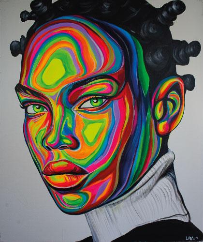 Urban Vibes - 100x120 cm