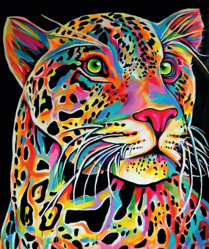 Leopard - 100x130 cm