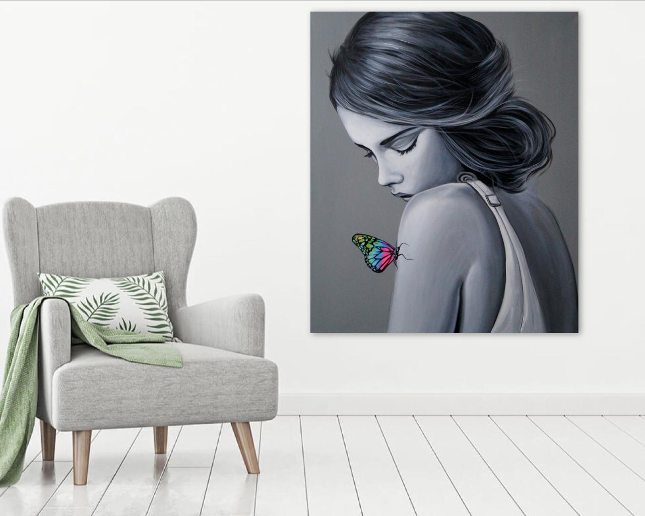 Butterfly - 100x120 cm